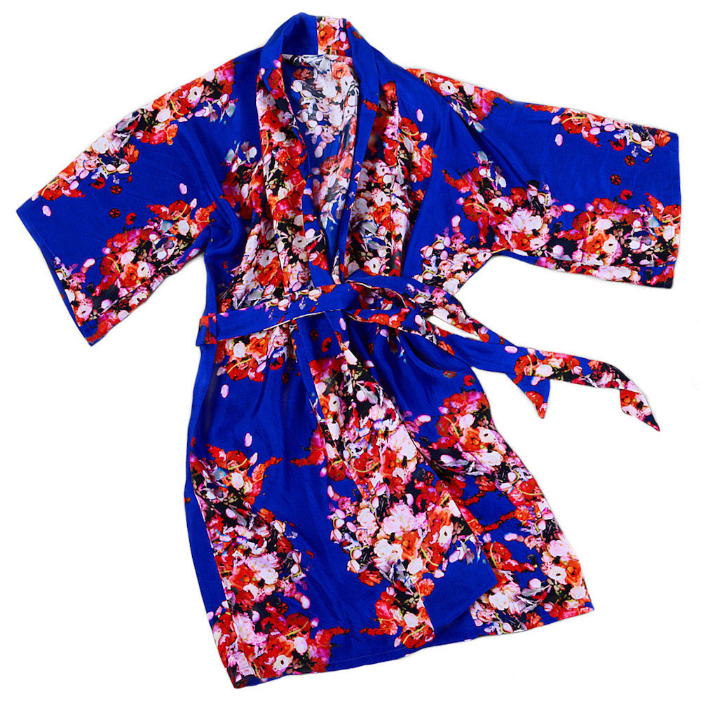 A kimono robe by Stevie Howell