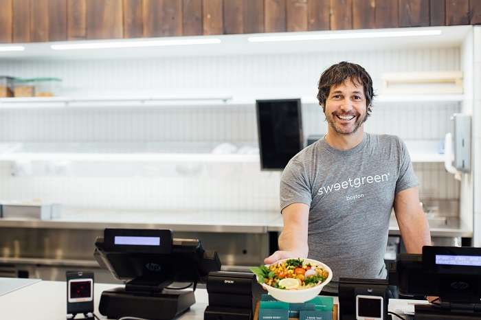 Chef Ken Oringer collaborates with sweetgreen creating the Toro Bowl in Ink Block, Boston ©Allison Zaucha/sweetgreen