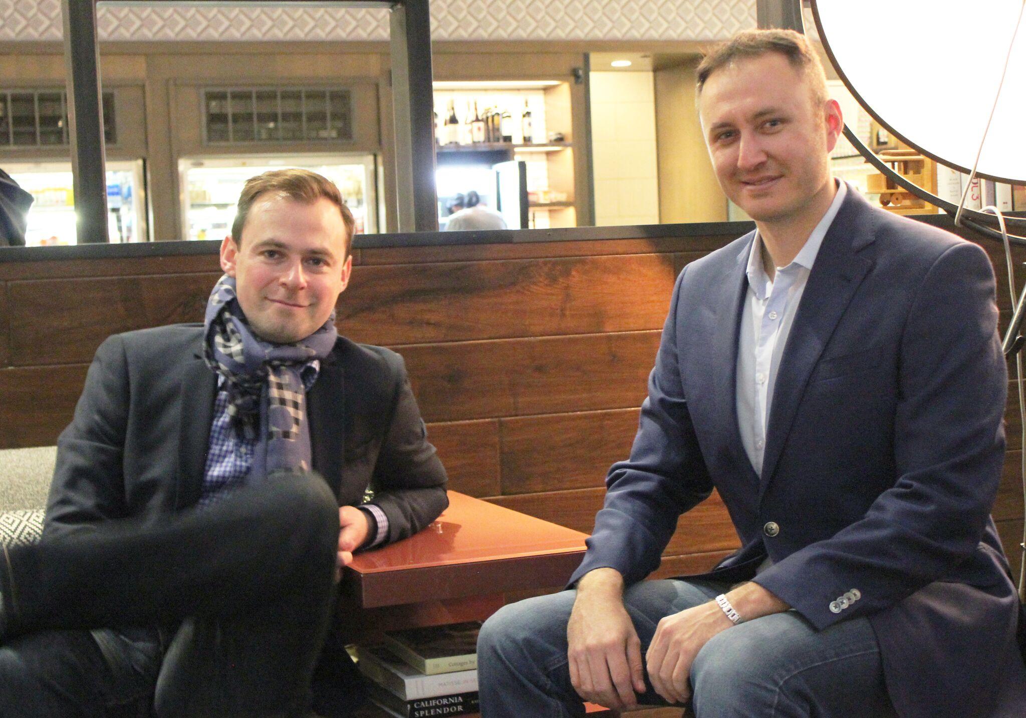 Vadim Slavin and Yuri Rabinovich