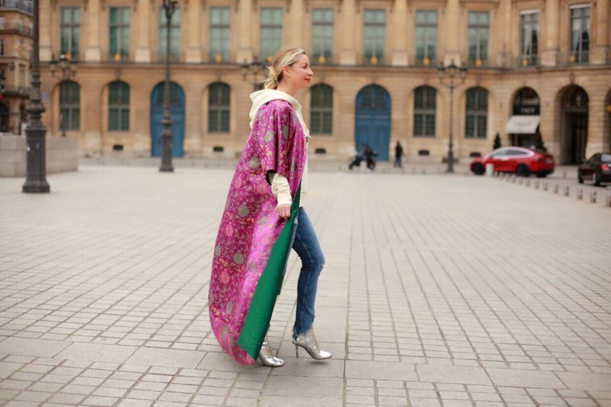 Walking the streets of Paris