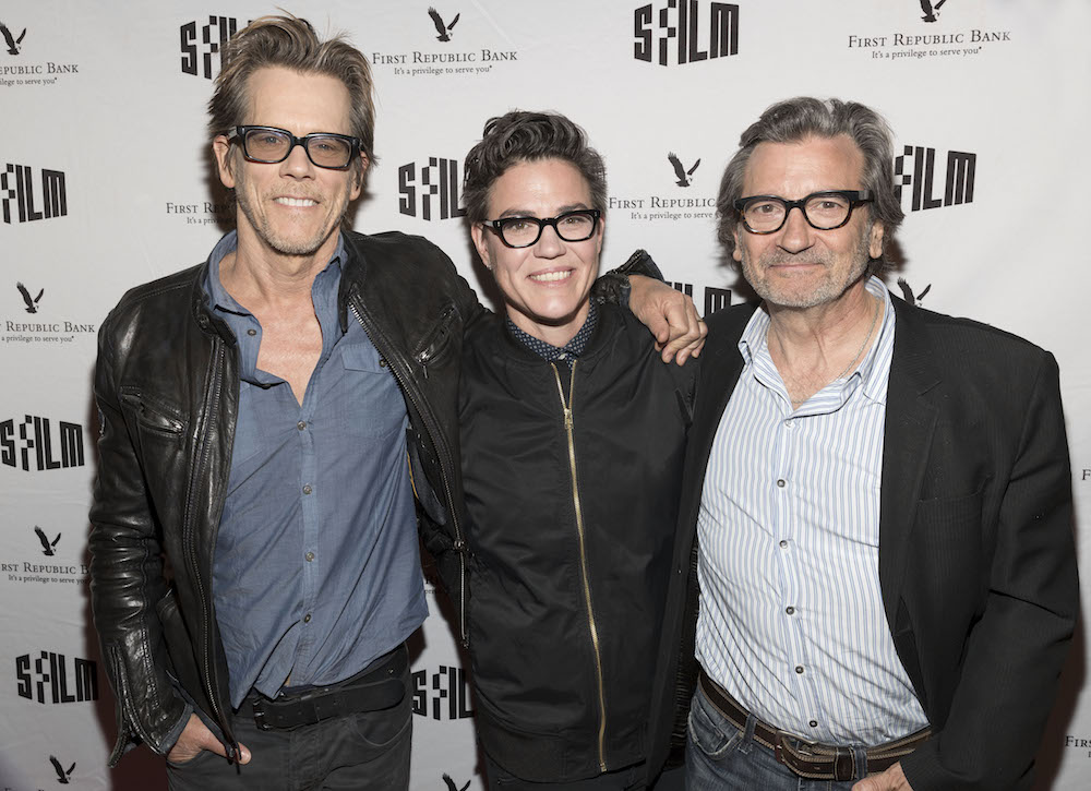 Kevin Bacon, Sarah Gubbins and Griffin Dunne