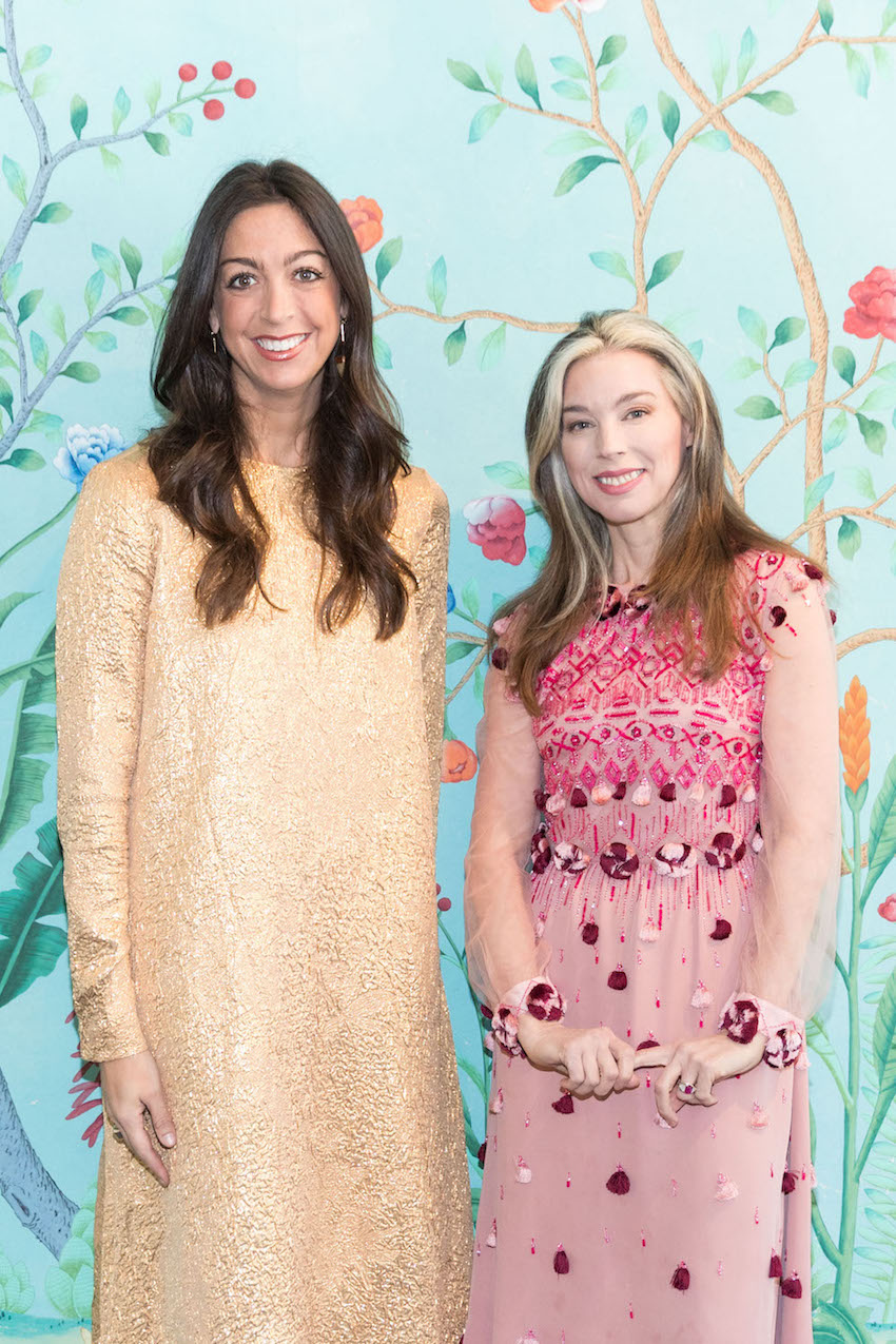 Trisha Gregory and Alexandra Lind Rose at the Armarium San Francisco launch at de Gournay