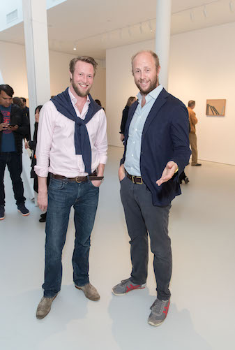 Ed Ruscha and Jonas Wood Opening Reception at Gagosian Gallery