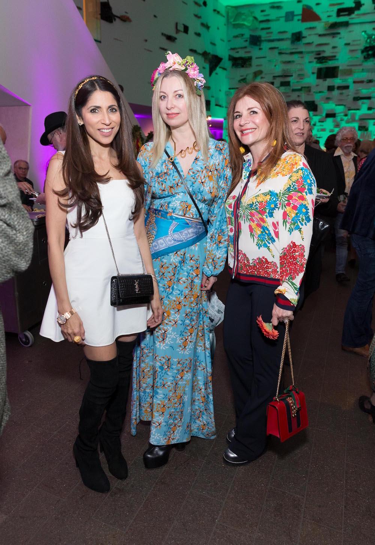Sobia Shaikh, Sonya Molodetskaya and Farah Makras