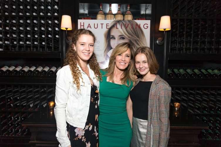 Sophia Macy, Felicity Huffman and Georgia Macy