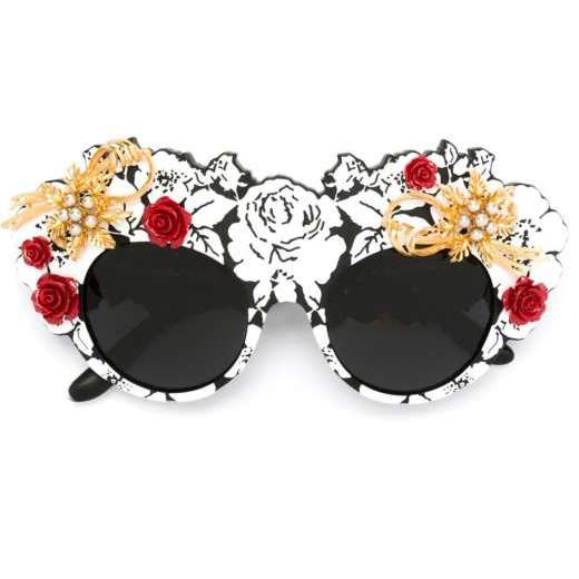 DOLCE & GABBANA 'Mama's Brocade' limited edition sunglasses