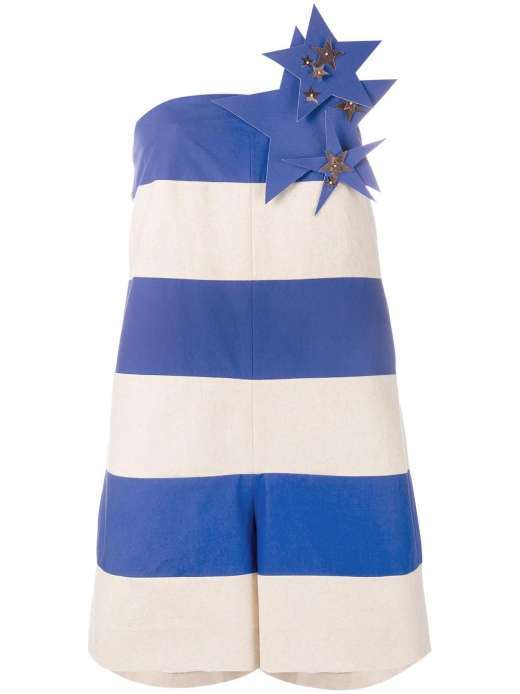 Delpozo Stars & Stripes jumpsuit