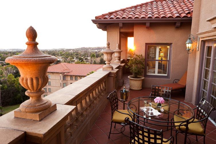 Tournament of Roses suite patio