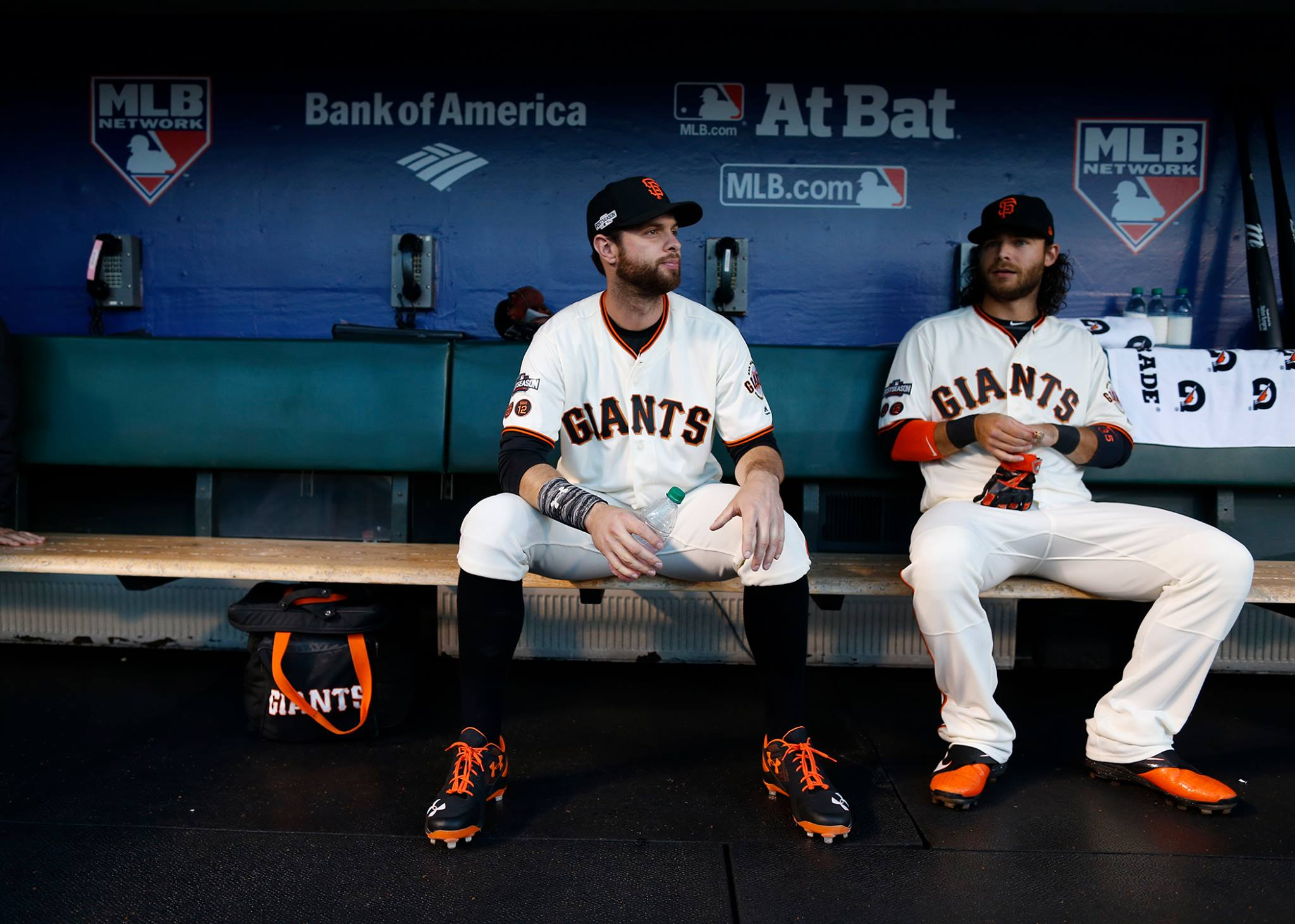 Brandon Belt and Crawford