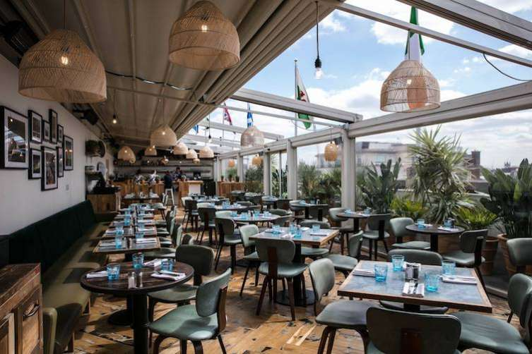 Haute New Spot Selfridges New Roof Deck Restaurant Amp Bar