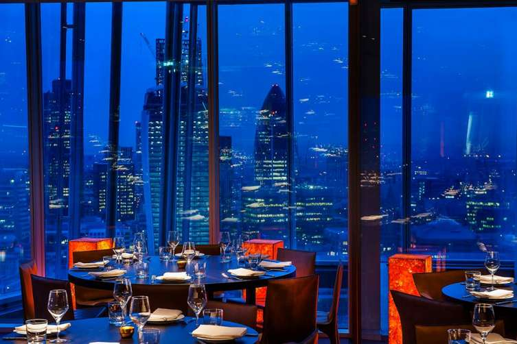 Haute Top 5 Best Restaurants With A View In London 2017