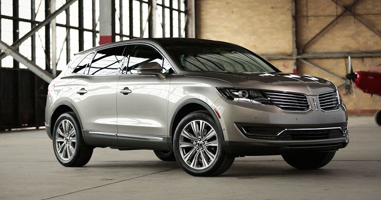 2017 Lincoln Mkx Front View