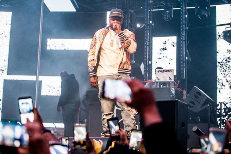 50 Cent Returns to Drai's Nightclub.