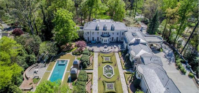 Haute Residence Atlanta: White Oaks Buckhead Estate Hits Market at $13.25 Million