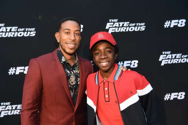 "ATLANTA, GA - APRIL 04: Actor/rapper Ludacris and actor Caleb McLaughlin attends ""The Fate Of The Furious"" Atlanta red carpet screening at SCADshow on April 4, 2017 in Atlanta, Georgia. (Photo by Paras Griffin/Getty Images for Universal)"