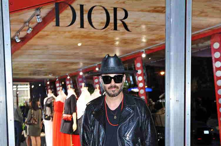 Mike Amiri attends DIOR SS17 Collection Launch at Maxfield on April 5, 2017