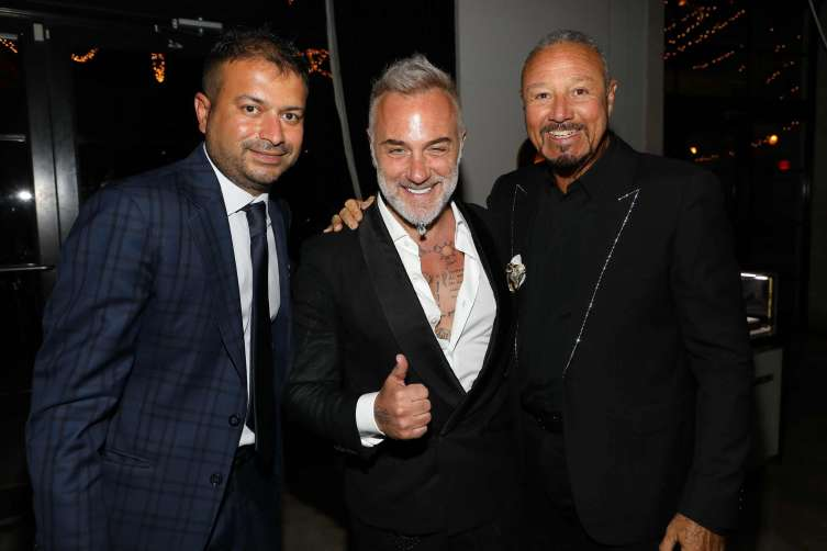 Kamal Hotchandani, Gianluca Vacchi and Richard Charlton