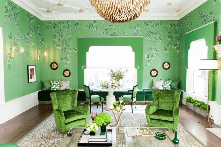 Jonathan Rachman designed this beautiful room at the SF Decorator Showcase