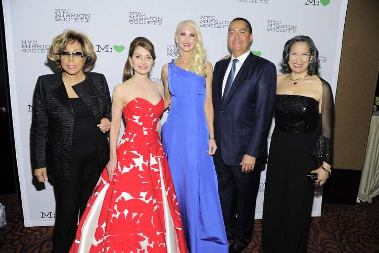 Diahann Carroll, Jean Shafiroff, Katrina Peebles, Don Peebles, Elsie McCabe Thompson== 2017 Champion For Children Gala== Mandarin Oriental, NYC== APril 5, 2017== ©Patrick McMullan== Photo - Owen Hoffmann/PMC== ==