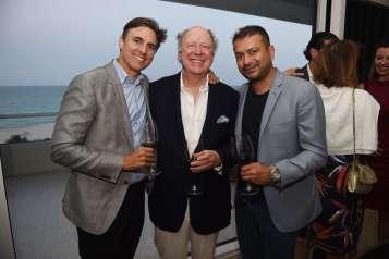 Archie Drury, Philip Norfleet and Kamal Hotchandani