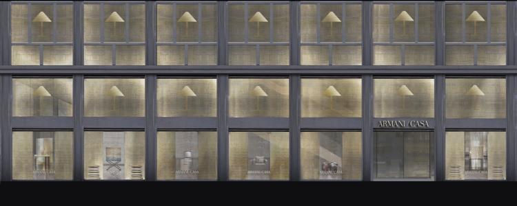 Armani Casa_Corso Venezia 14_rendering esterno