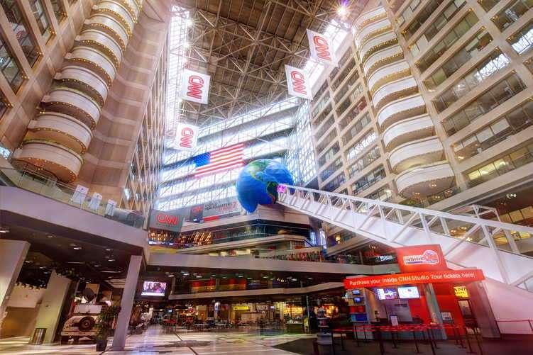 Atlanta CNN Center Atrium