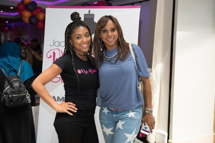 Jada Paul and Holly Robinson Peete