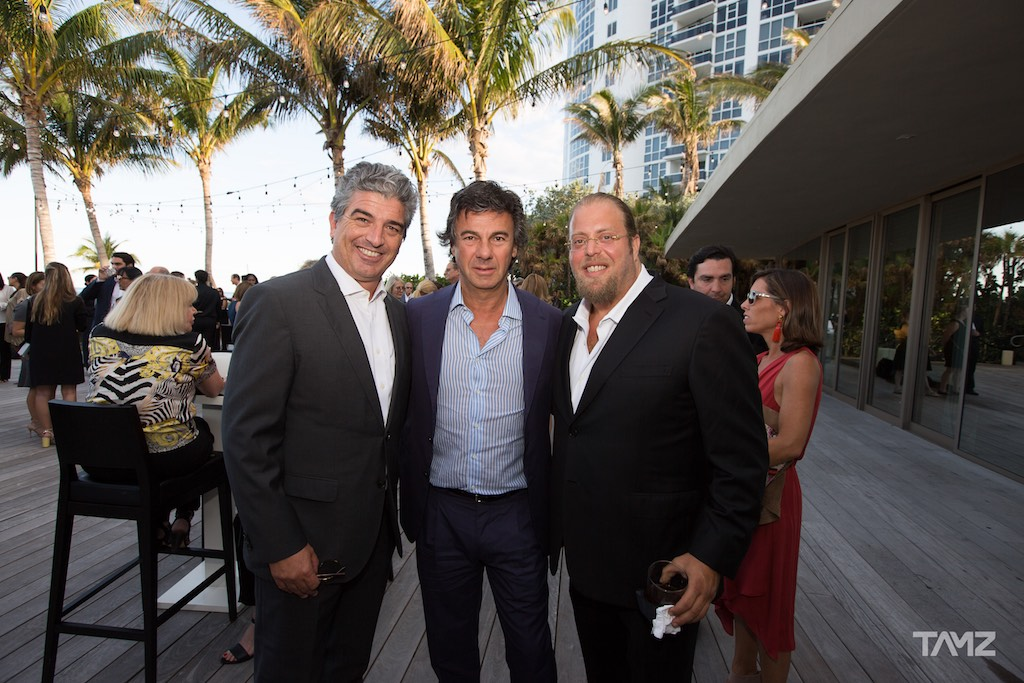 Carlos Rosso, Ugo Colombo and Gil Dezer