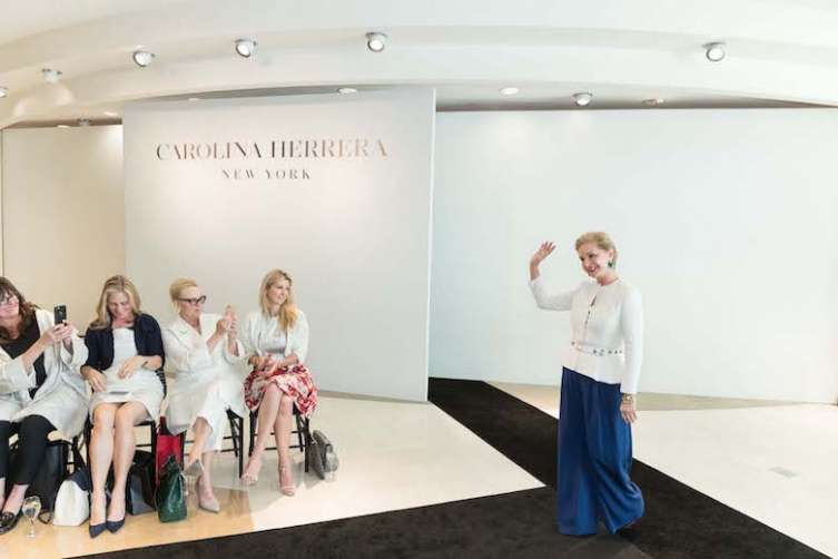 Carolina Herrera Personal Appearance and Runway Fashion Show
