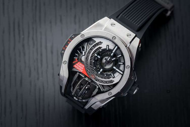 Haute Complication- Hublot MP-09 Tourbillon Bi-Axis