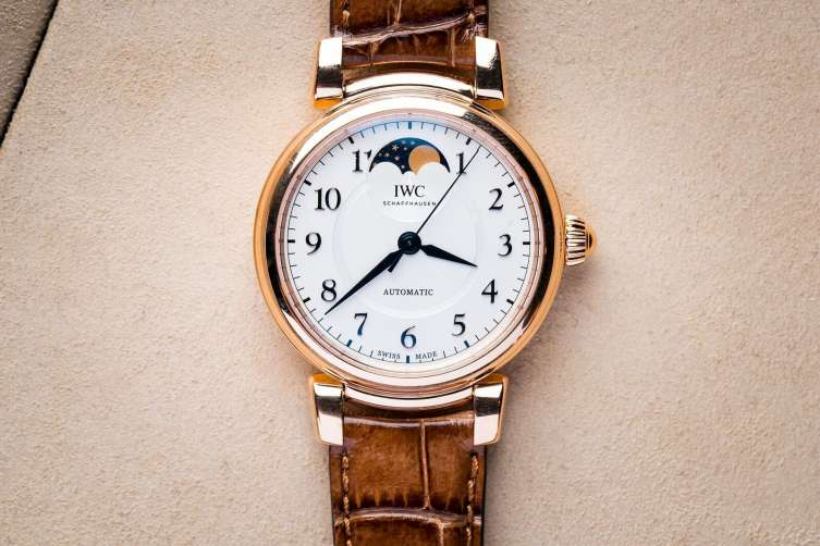 IWC Da Vinci ladies moonphase