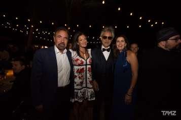 Jorge Perez, Veronica Berti, Andrea Bocelli, & Darlene Perez