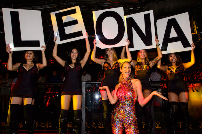 Leona Lewis celebrates her birthday at Tao.