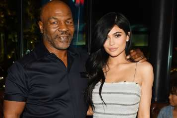 Mike Tyson and Kylie Jenner