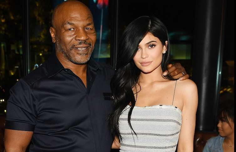 Mike Tyson and Kylie Jenner at Sugar Factory.