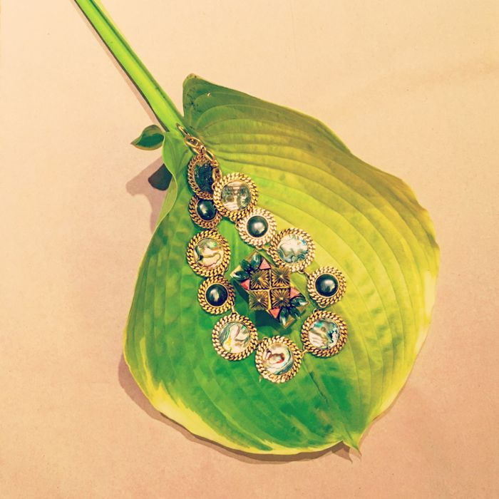 NICOLE ROMANO JEWELLRY ON LEAF