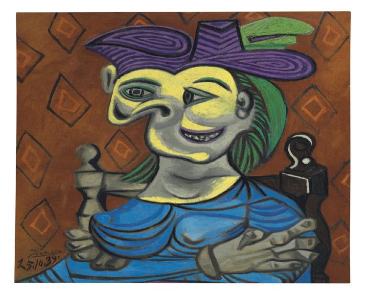 Christie\'s to auction extraordinary Picasso portrait of Dora Maar