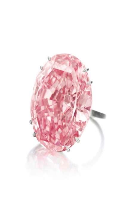 REThe Pink Star_mounted