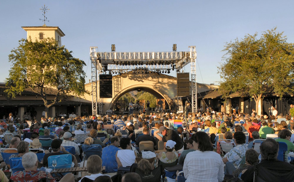 A scene from last summer's concert series