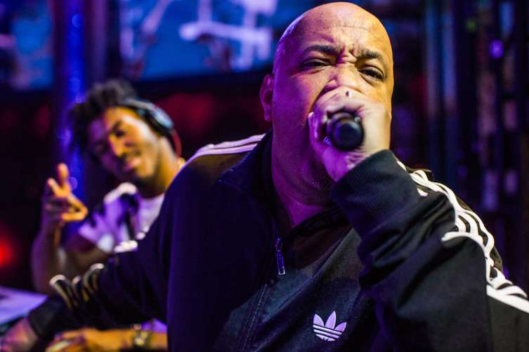 Rev Run performs at Drai's.