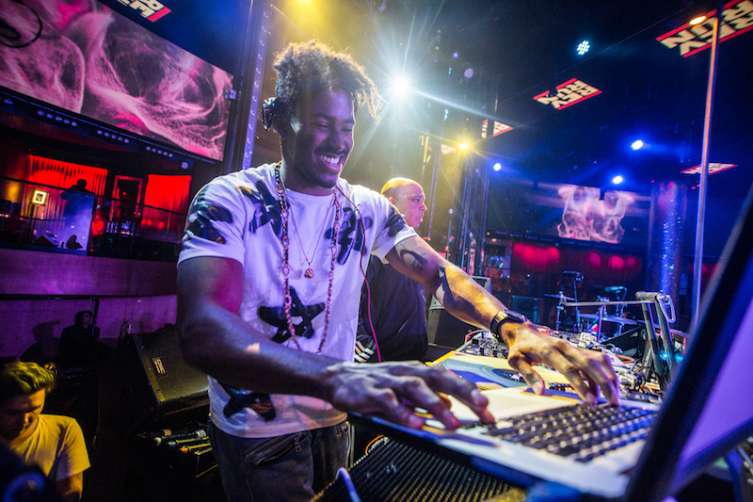 DJ Ruckus performs at Drai's.