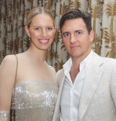 Karolina Kurkova and Archie Drury
