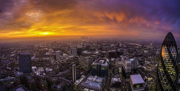 Sunrise from SUSHISAMBA - credit Miroslaw Tran Photography