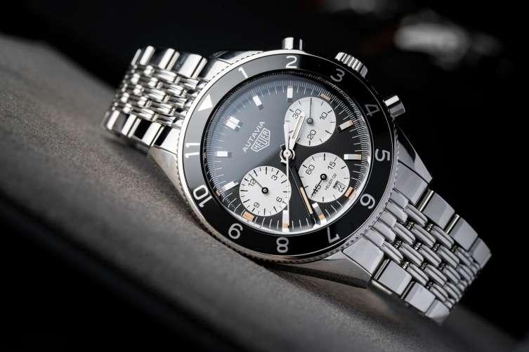 TAG-Heuer Autavia Steel bracelet