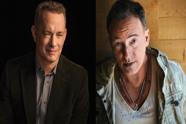 Tribeca Talks: Storytellers - Bruce Springsteen with Tom Hanks.