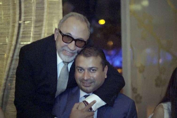 Emilio Estefan and Kamal Hotchandani