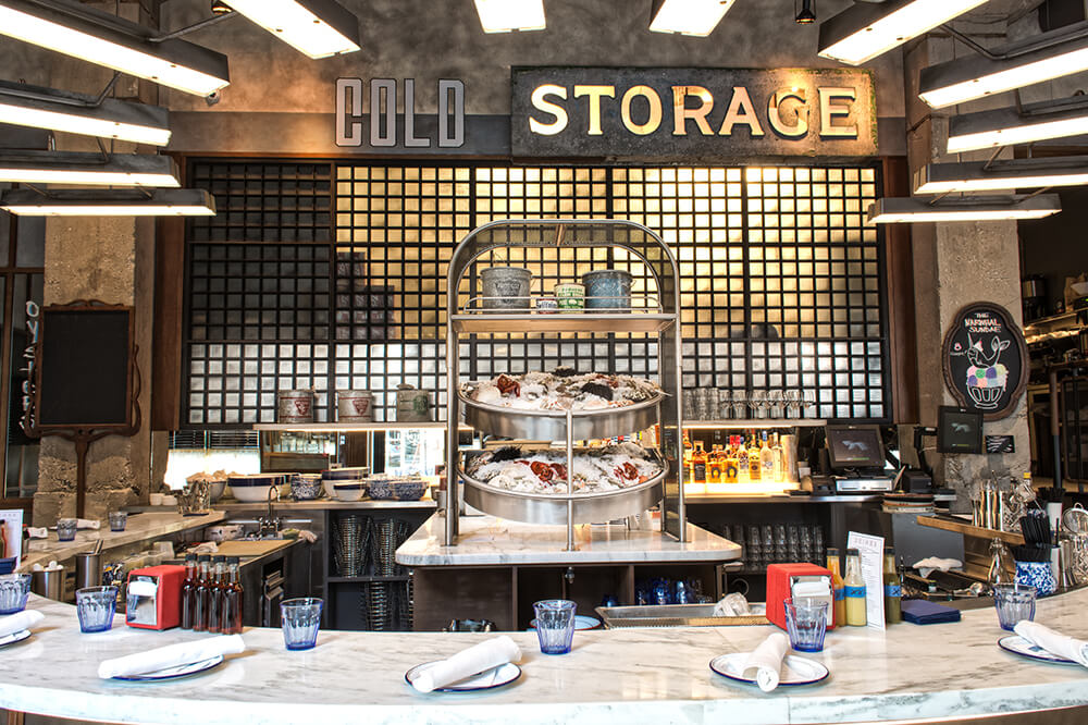 Best Seafood Restaurants Cold Storage Chicago