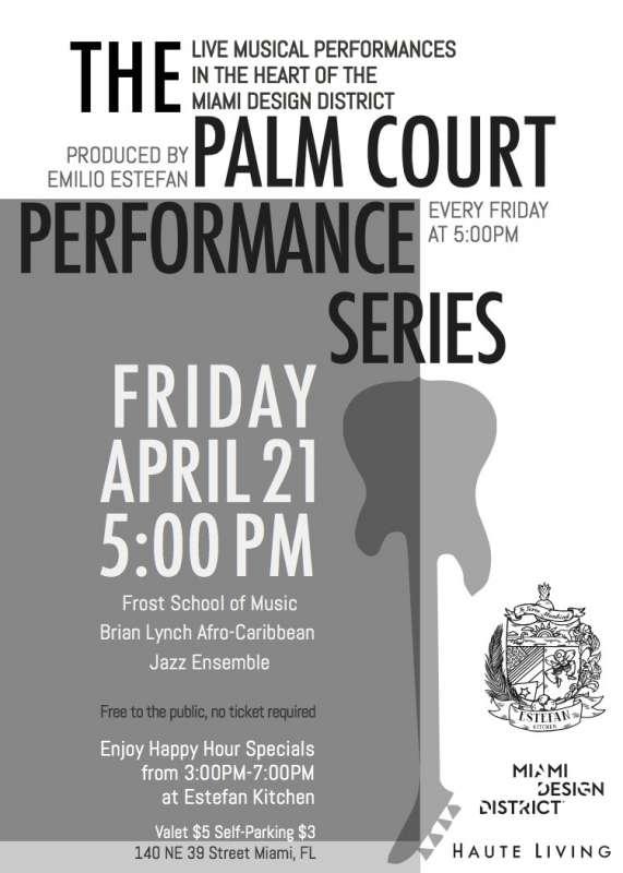 Palm Court Performance Series