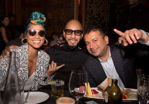 Alicia Keys, Swizz Beatz & Kamal Hotchandani