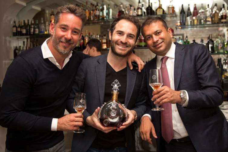 Mike Mammoliti, Philippe Vasilescu & Kamal Hotchandani at MAMO